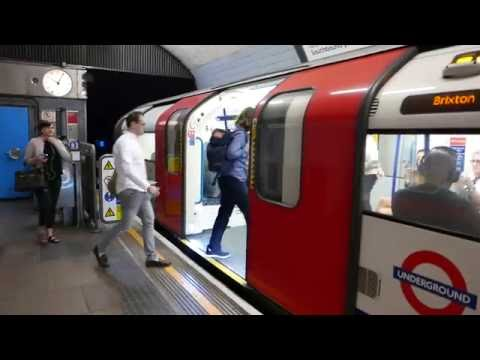 London Underground Victoria Line Trains At Highbury & Islington 2 September 2016