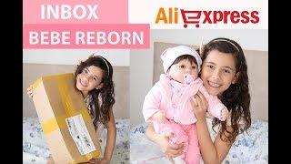 Обложка на видео о Inbox BEBÊ REBORN do Aliexpress