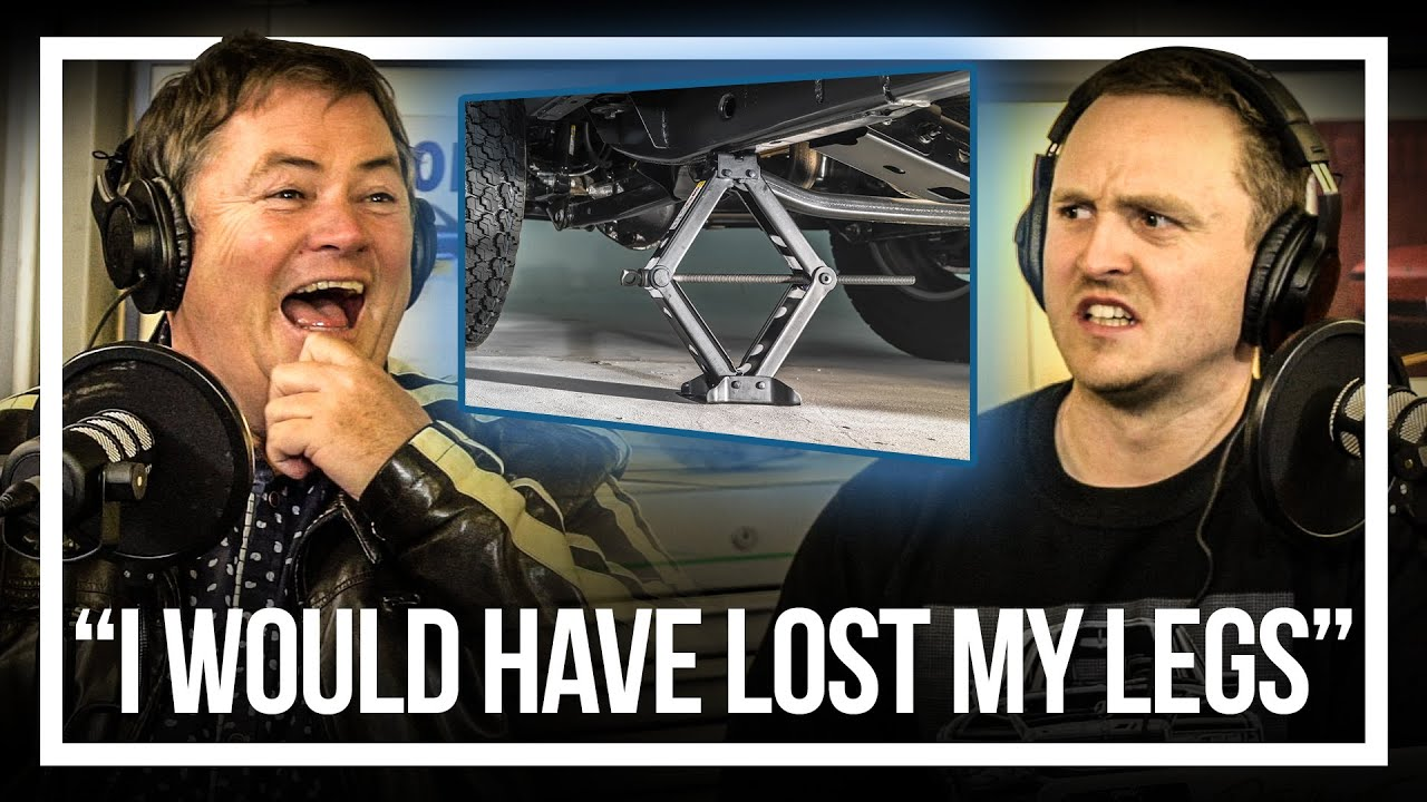 How A Widow-Maker Jack Almost Cost Me My Legs | Your Car Stories (feat. Mike Brewer)