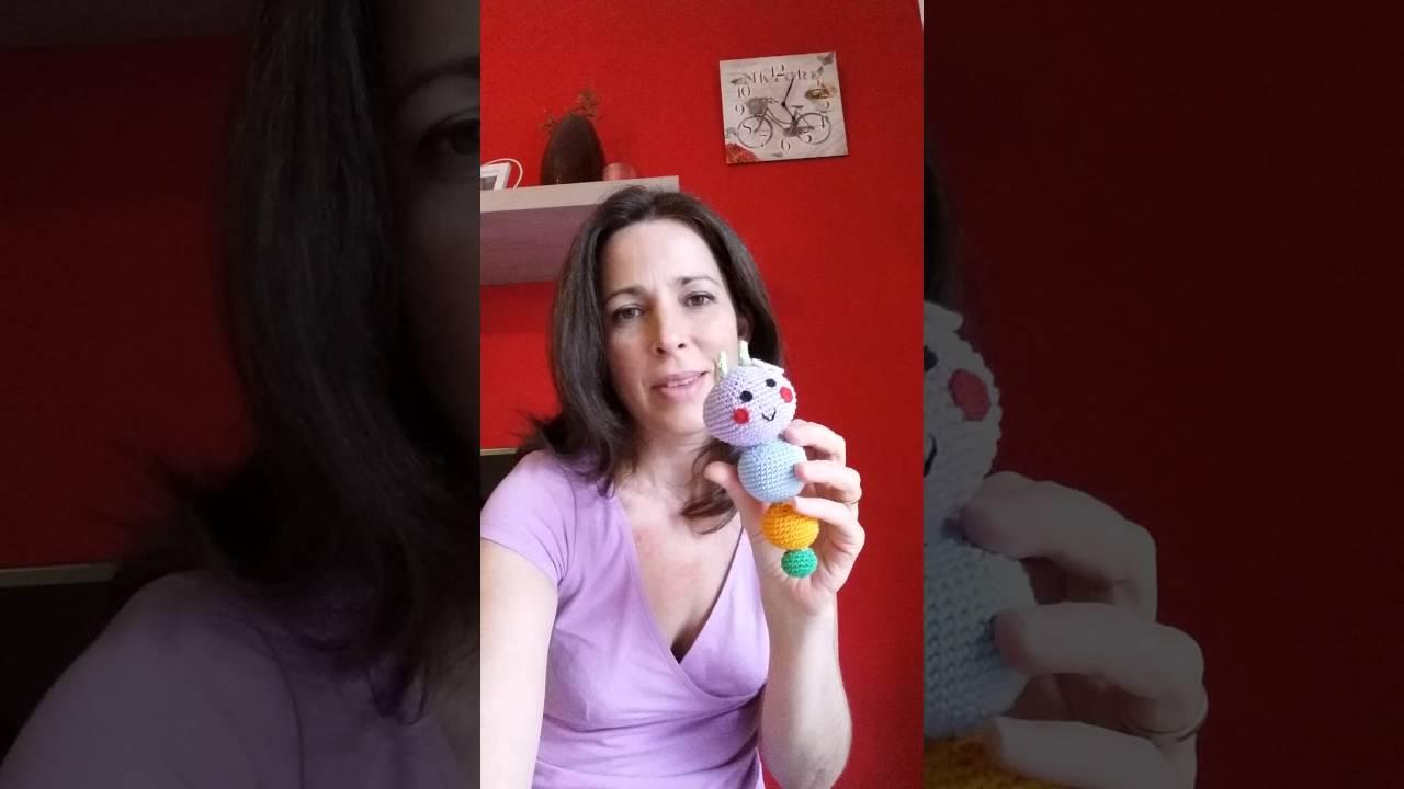 Tutorial Sonaglio per bebè all uncinetto (sonajas para bebè ...   720x1280