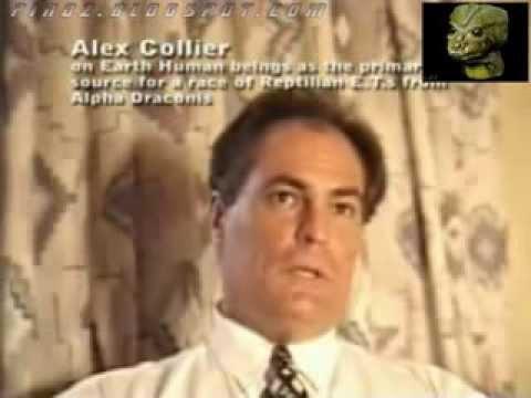 REPTILIANS EAT HUMANS   Alex Collier Important Interview 1994