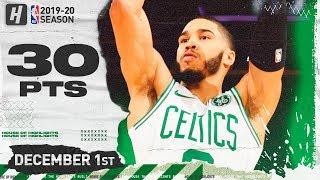 Jayson Tatum 30 Points Full Highlights | Celtics vs Knicks | December 1, 2019 Video