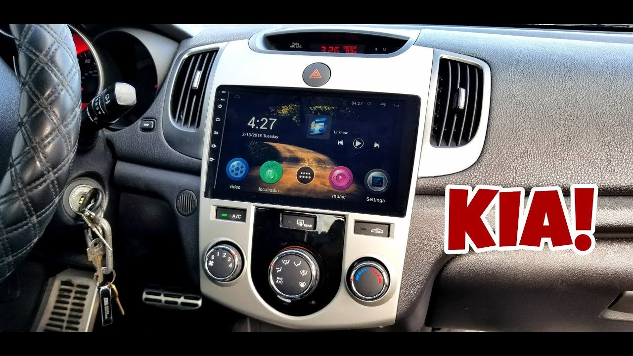 medium resolution of how to install a smart android radio on any kia 09 18