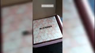 Распаковка посылки Mr Scrubber уход за волосами
