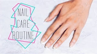 NAIL CARE ROUTINE | itslinamar
