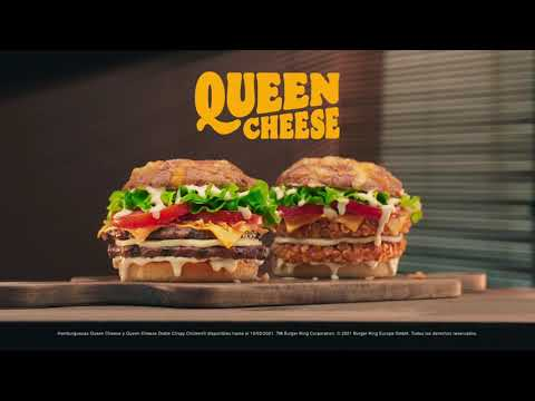 Burger King presenta su nueva hamburguesa 'Queen Cheese'