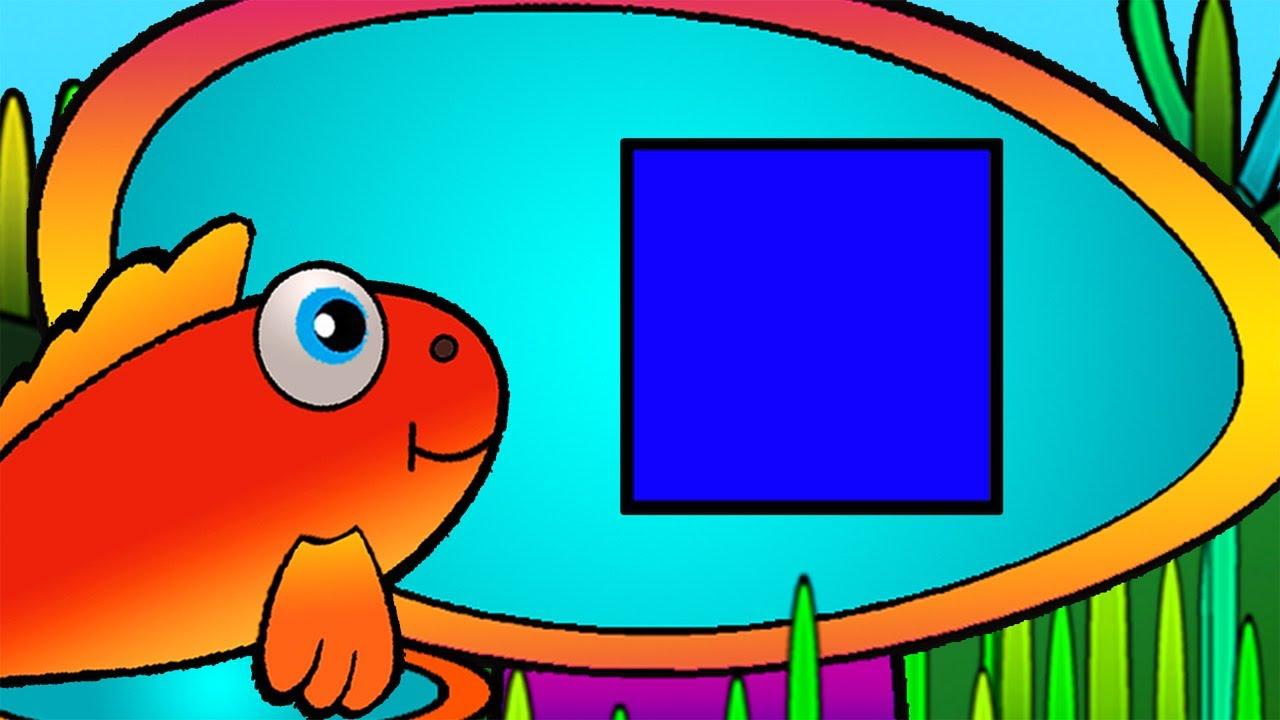 Развивающие Мультики - геометрические фигуры - квадрат ...