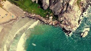 Morro Bay - California Coast - Peaceful Aerial Shots