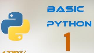 Basic Python Лекция 1. Ввод, вывод, переменные, типы