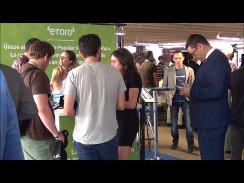 Forex Day 2017 (Madrid) - Elie EDERY, Directeur Régional chez eToro (Trading Social, Crypto)
