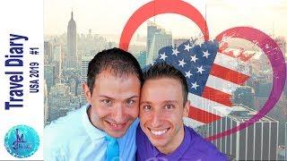 Travel Diary   Usa Vacation Vlog #1   From Leipzig To Manhattan #couplegoals
