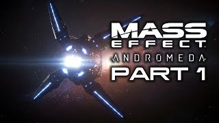MASS EFFECT ANDROMEDA Casual Gameplay Walkthrough Part 1 - No Commentary
