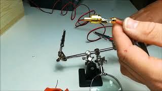 Añadir conector RCA macho a altavoces