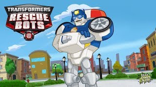 Transformers Rescue Bots: Hero Adventures #180 | CHASE: Police-Bot MISSION! By Budge