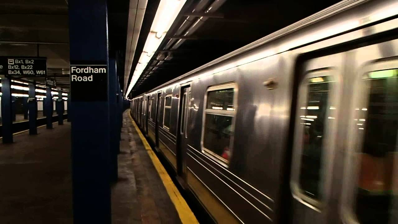 mta new york city subway r68a d train at fordham road. Black Bedroom Furniture Sets. Home Design Ideas