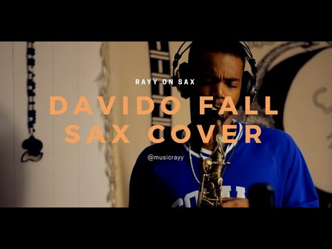 SAXOPHONE COVER Davido Fall Instrumental Freestyle by Rayy. | Phi Beta Sigma Fraternity inc.
