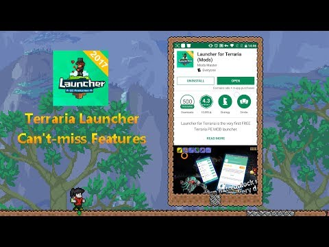 Terraria Launcher - Can'T Miss These Features - YT