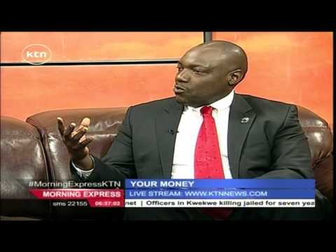KTN Morning Express Business Chat with Steve Oundo looking at Kenya's construction scene Part 1