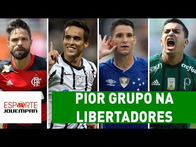 Qual BRASILEIRO pegou o PIOR grupo na LIBERTADORES?
