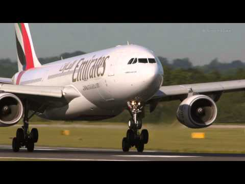 Airbus A330 - 8 smooth landings at Manchester...