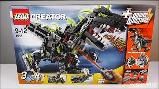 LEGO 4958 Creator Monster Dino - Review deutsch -