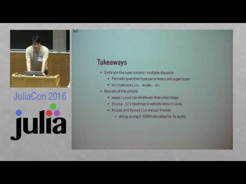 JuliaCon 2016 | Music Information Retrieval in Julia | Jong Wook Kim
