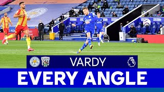 EVERY ANGLE   Jamie Vardy vs. West Bromwich Albion   2020/21