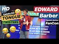 EDWARD Barber Does MAYMAY Butt Spell! TAGALOG Tongue Twisters Challenge | Captain Barber FANCON
