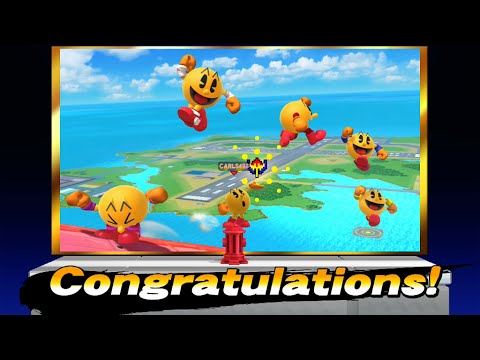 Super Smash Bros. For Wii U: Classic Mode Intensity 9.0 (Pac-Man)