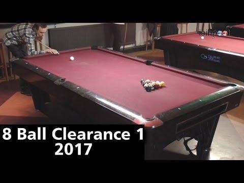 American 8 Ball Clearance 1- 2017