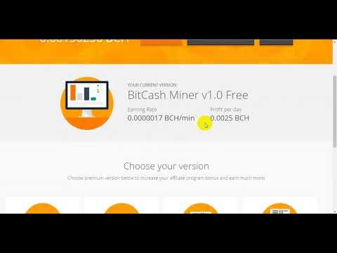 miner bitcoin cash