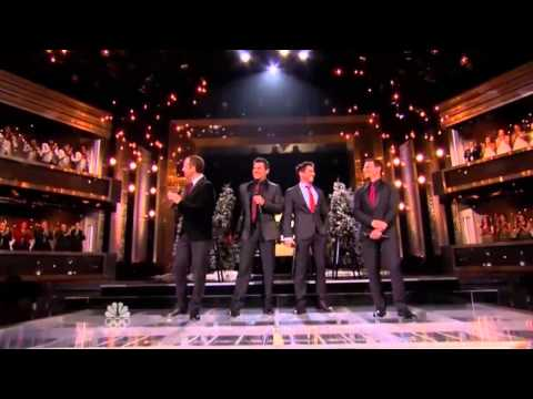 I'll Be Home For Christmas - 98 Degrees - The Sing Off Season 4 Finale HD