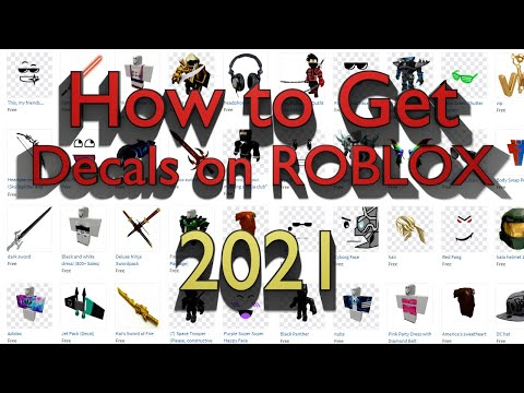 How to get Decals and Models on Roblox | 2021 Tutorial