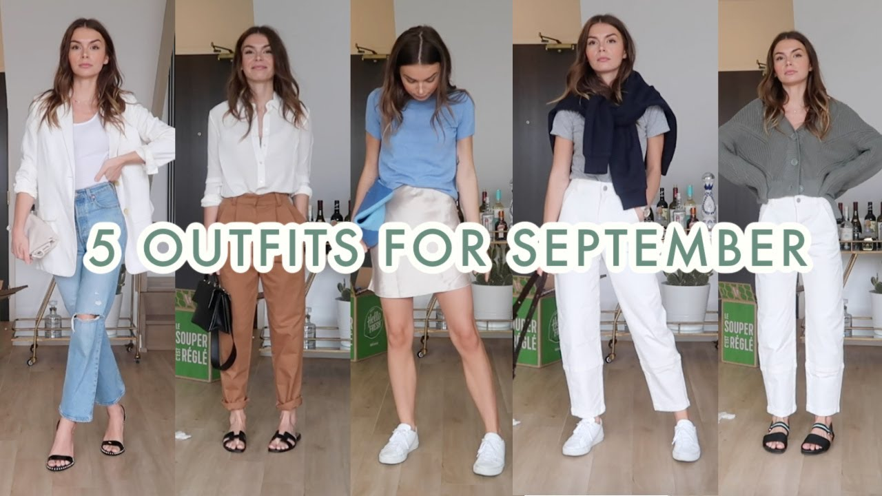 5 Outfits For September | summer to fall transitional looks
