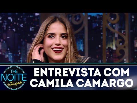 Entrevista com Camila Camargo | The Noite (27/04/18)