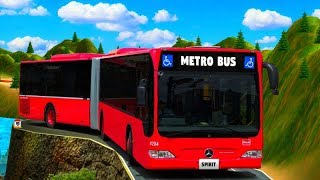 Metro Bus Simulator Drive - Best Android Gameplay HD screenshot 5