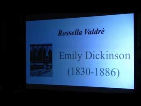 Rossella Valdrè - Emily Dickinson: una vita dentro lo scaffale