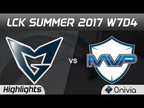 SSG vs MVP Highlights Game 3 LCK SUMMER 2017 Samsung vs MVP by Onivia