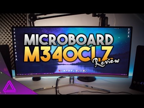 Microboard M340CLZ Review ~ Acer X34 Killer? ~ Best 21:9 Monitor For Gaming & Editing