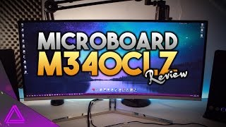 microboard m340clz review acer x34 killer best 21 9 monitor for gaming editing