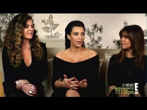 Kim Kardashian Talks Kanye West Wedding and Pregnancy!