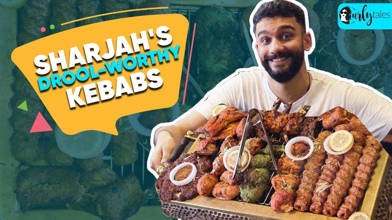 10 Drool-Worthy Kebabs In One Platter Al Nawab in Sharjah | I Love My Dubai S2E22 | Curly Tales UAE