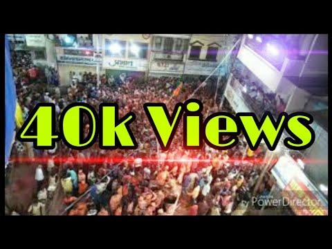 Jay Matrubhumi Mandal Bhusawal🔥 | Ganapati Visarjan 2018 | Laxmi Chowk Top View🔥🔥