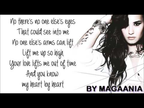 Demi Lovato - Heart By Heart Lyrics On Screen (FULL SONG)