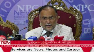 PML-N Gov't performed excellently during its five year term: Ahsan Iqbal