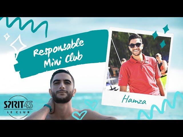 Hamza - Responsable Mini-Club - Travailler au Club Med