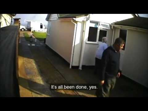 BBC Rogue Traders Update - Driveway laying (Eddie Green) Part 2/3
