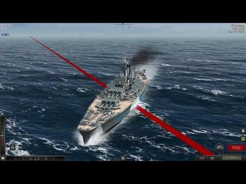Atlantic Fleet DKM Bismarck Vs USS Washington