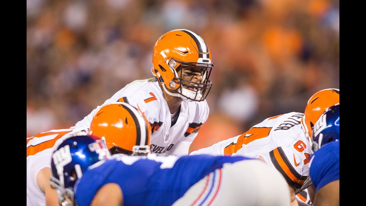Ready or not: Rookie Kizer now Browns starting quarterback