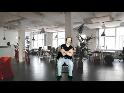 Seniorenweb Burogymnastik 1 Teil Youtube